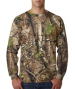 Code V 3981 Adult Camouflage Long-Sleeve T-Shirt APG Realtree HD 4XL