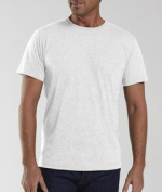 LAT 6905 Adult Vintage Fine Jersey T-Shirt - Blended White 2XL