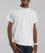 LAT L6105 Youth Vintage Fine Jersey T-Shirt - Blended White Medium