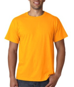 FOL 3930 Adult Heavy Cotton T-Shirt Gold Large