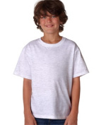 FOL 3930B Youth Heavy Cotton T-Shirt Ash Large