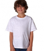 FOL 3930B Youth Heavy Cotton T-Shirt Ash Large