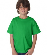 FOL 3930B Youth Heavy Cotton T-Shirt Kelly Medium