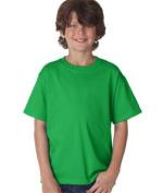 FOL 3930B Youth Heavy Cotton T-Shirt Kelly Medium