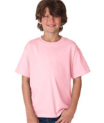 FOL 3930B Youth Heavy Cotton T-Shirt Classic Pink Extra Small