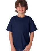 FOL 3930B Youth Heavy Cotton T-Shirt J Navy Small