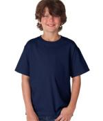 FOL 3930B Youth Heavy Cotton T-Shirt J Navy Small