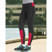 Champion Womens Performax Performance Legging XL Patrol Red/Black