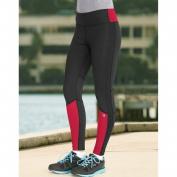 Champion Womens Performax Performance Legging XL Patrol Red/Black