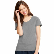 Light Steel Womens X-Temp V-Neck T-Shirt - Size XL