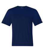 Champion CW22 Adult Double Dry Interlock Tee - Navy Small