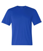 Champion CW22 Adult Double Dry Interlock Tee - Royal Blue Medium