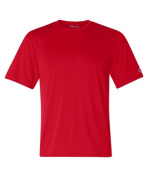 Champion CW22 Adult Double Dry Interlock Tee - Scarlet Large