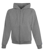 Champion S800 50/50 EcoSmart Full-Zip Hood 2XL Light Steel