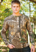 Browning 30170824 Long Sleeve Camo T-Shirt Realtree Xtra - Small