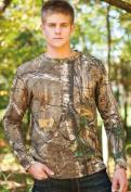 Browning 30170824 Long Sleeve Camo T-Shirt Realtree Xtra - Small