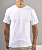 Sublivie 1910 Adult Polyester T-Shirt White 2XL