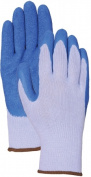 Lfs Glove C302S Small Blue Latex Palm Gloves