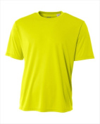 A4 NB3142 Youth Cooling Performance Crew - Safety Yellow Large