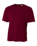A4 N3142 Cooling Performance Crew T-Shirt Maroon - Medium