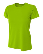 A4 NW3201 Womens Cooling Performance Crew Lime - Extra Small
