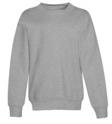 Hanes P360 Youth Comfortblend Ecosmart Crew Sweatshirt Light Steel Medium