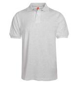 Hanes 054X Adult Comfortblend Ecosmart Jersey Polo Ash 2x