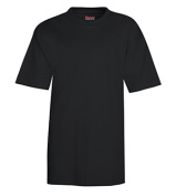 Hanes 5380 Youth Beefy-T Black - Extra Small