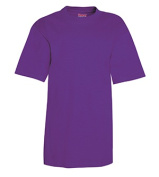 Hanes 5380 Youth Beefy-T Purple - Extra Small
