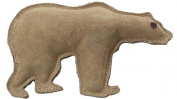 Ethical Dog-Dura-fused Leather Bear- Brown Large 4212