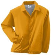 Augusta 3100A Adult Nylon Coachs Jacket Gold - 3X