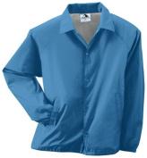 Augusta 3100A Adult Nylon Coachs Jacket Columbia Blue - 2X