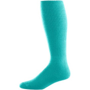 Augusta 6027A Youth Athletic Socks Teal Size - 7-9