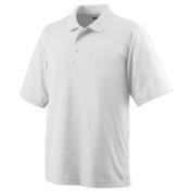 Augusta 5095A Wicking Mesh Sport Shirt White - Medium