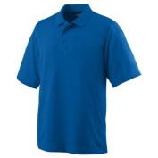 Augusta 5095A Wicking Mesh Sport Shirt Royal Blue - Large