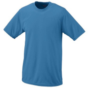 Augusta 790A Adult Wicking Tee Columbia Blue Large