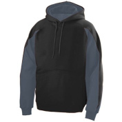 Augusta 5460A Adult Volt Hoody - Black & Graphite Large
