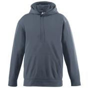 Augusta 5505A Wicking Fleece Hooded Sweatshirt - Graphite 2X