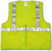 Tingley Rubber V70632.2X-3X Polyester Lime & Yellow Mesh Class II Safety Vest