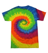 Colortone T1001Y Multi Colour Tie Dye Youth Tee Moon Dance - Medium