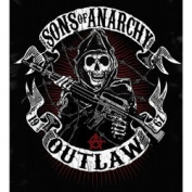 Sons of Anarchy Outlaws T-Shirt Large 28264L