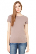Bella-Canvas B6004 Womens The Favourite Tee Pebble Brown - Small