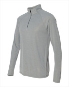 Alo Sport Men's Quarter-Zip Lightweight Pullover. M3006-ATHLETIC HEATHER-XL