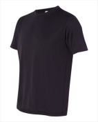 Alo M1009 Unisex Performance Short Sleeve T-Shirt Black Medium