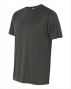 Alo M1009 Unisex Performance Short Sleeve T-Shirt Dark Grey Heather Medium