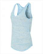 Bella-Canvas B8805 Womens Flowy V-neck Tank Blue Marble 2X