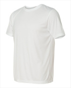 Alo M1009 Unisex Performance Short Sleeve T-Shirt White XL