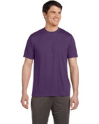 Alo M1009 Sport Unisex Performance Short Sleeve T-Shirt - Sport Purple Large