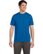 Alo M1009 Sport Unisex Performance Short Sleeve T-Shirt - Sport Royal Large