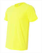 Bella-Canvas C3650 Unisex Poly-Cotton Short Sleeve T-Shirt - Neon Yellow Extra Small
